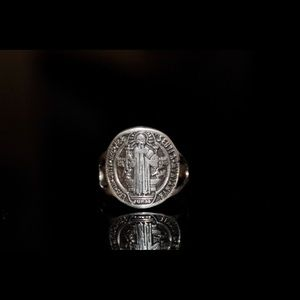 Silver 925 ring Benedict